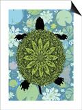 Turtle Poster by Teofilo Olivieri