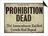Prohibition Art