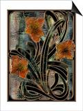 Art Nouveau Parabolas Prints by Mindy Sommers