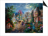 Moonlight Splendor Print by Nicky Boehme
