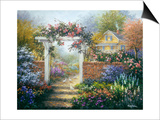Rose Arbor Posters by Nicky Boehme