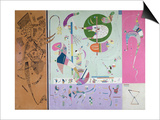 Parties Diverses, 1940 Prints by Wassily Kandinsky