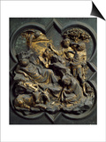 Nativity, Panel Prints by Lorenzo Ghiberti
