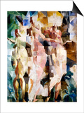 The Three Graces, 1912 Posters af Robert Delaunay
