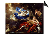Diana and Endymion Prints by Luca Giordano