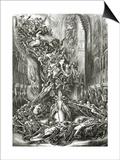La Ronde Du Sabbat,19th Century Posters by Louis Boulanger