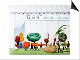 Size Matters, 2012-13 Affiche par Rebecca Campbell