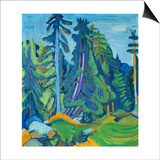 The Mountain Forest Posters by Ernst Ludwig Kirchner