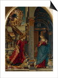 The Annunciation, 1491 Posters by Luca Signorelli
