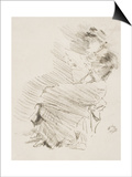 Reading, C.1883 Prints by James Abbott McNeill Whistler