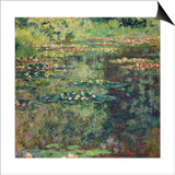 The Waterlily Pond, 1904 Prints by Claude Monet