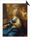 St. Cecilia Posters af Sebastiano Conca