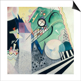 Wassily Kandinsky - Green Composition, 1923 - Sanat