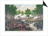 Battle of Spotsylvania, Pub. Kurz and Allison, 1888 Prints
