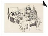 Der Schutz Engel, 1905 Prints by Carl Larsson