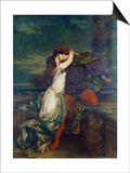 Romeo i Julia Reprodukcje autor Vilhelm Hammershoi