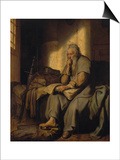 The Apostle Paul in Prison, 1627 Posters by  Rembrandt van Rijn