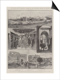 The Revolution in Morocco, Scenes in the Disturbed District of Tetuan Prints by Amedee Forestier