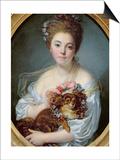 Madame De Porcin, 1774 Posters by Jean Baptiste Greuze