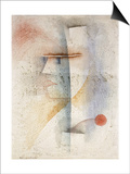 Paul Klee - Portrait of a Man in Costume (With a Flower); Bildinis Eines Kostumierten (Mit Blume), 1929 Plakát