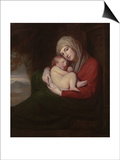 A Mother and Child, 1771 Posters by George Romney