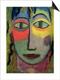 Head of a Woman 'Medusa', 1923 Posters by Alexej Von Jawlensky