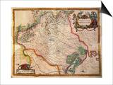 Regionum Italiae, Territory of Treviso, Veneto Region, Italy Posters by Willem Janszoon Blaeu