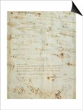 Study on War Prints by  Leonardo da Vinci
