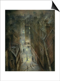 Soho Twilight, C.1924 Posters by Christopher Richard Wynne Nevinson