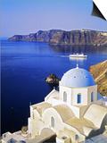 Oia, Santorini Island, Thera Prints by Giovanni Simeone