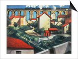The Viaduct Posters by Christopher Richard Wynne Nevinson