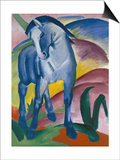 Blue Horse, 1911 Prints by Franz Marc