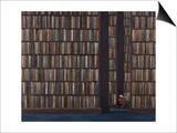 The Book Worm Kunstdruck von Rebecca Campbell