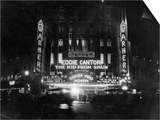 Crowds Waiting to See Eddie Cantor Movie Prints