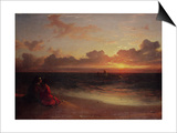 Sunset Prints by Francis Danby