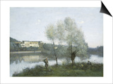 Ville D'Avray, c.1865 Prints by Jean Baptiste Camille Corot