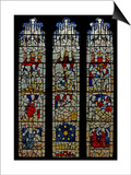 Window N4 Depicting the Works of Mercy Window Posters