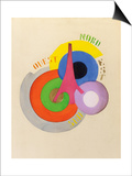 'Tour Eiffel', 1918 Posters af Robert Delaunay