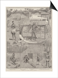 Scenes on the Congo, Africa Prints by Charles Edwin Fripp