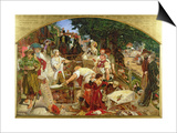 Work', 1852-65 Posters by Ford Madox Brown