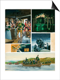 Rogers' Rangers: a New Campaign Prints by Ron Embleton
