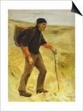 Schreitender Bauer, 1894 Posters by Max Liebermann