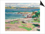 Ross of Mull from Traigh Mhor, Iona Posters by Francis Campbell Boileau Cadell