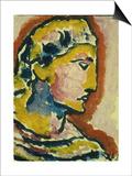 Head; Kopf, 1930 Art by Alexej Von Jawlensky