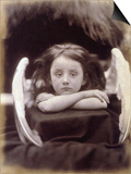 I Wait (Rachel Gurney as an Angel), 1872 Posters by Julia Margaret Cameron