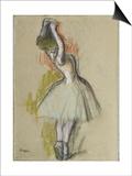 Danseuse Debout, C. 1885 Posters by Edgar Degas