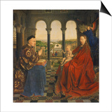 The Rolin Madonna (La Vierge Au Chancelier Rolin), C. 1435 Prints by  Jan van Eyck