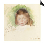 Portrait of Ellen Mary Cassatt (Pastel on Paper Mounted on Paperboard. 36.2 X 35.9Cm.) Prints by Mary Cassatt