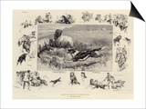 Sheep-Dog Trials in Westmoreland Prints by John Charlton