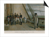 Napoleon on Board HMS Bellerophon Posters by Sir William Quiller Orchardson
